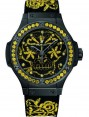 Fake Hublot Big Bang Broderie Sugar Skull Fluo Sunflower 41 mm Watch 343.CY.6590.NR.1211