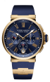 Fake Ulysse Nardin Marine Chronograph Watch 1532-150-3/43