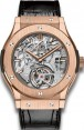Fake Hublot Classic Fusion Tourbillon Cathedral Minute Repeater King Gold 504.OX.0180.LR