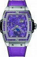 Fake Hublot Spirit of Big Bang Moonphase Titanium Purple 647.NX.4771.LR.1205