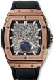 Fake Hublot Spirit of Big Bang Moonphase King Gold 647.OX.1138.RX