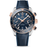 Fake Omega Seamaster Planet Ocean 600M GMT 215.23.46.51.03.001