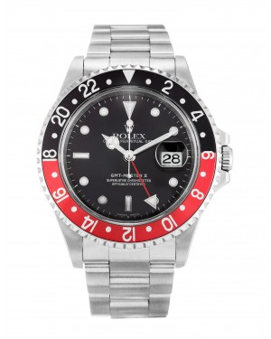 Fake Rolex GMT Master II Black Dial 16710