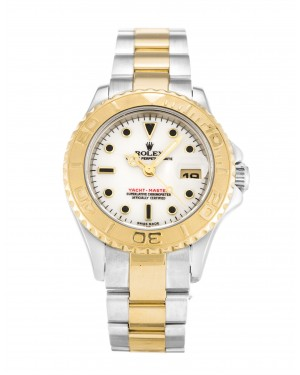 Fake Rolex Yacht-Master White Dial 169623