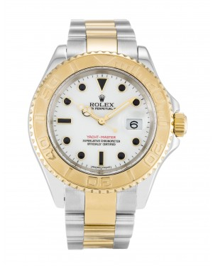 Fake Rolex Yacht-Master White Dial 16623