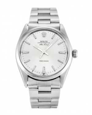 Fake Rolex Air-King Silver Dial 5500