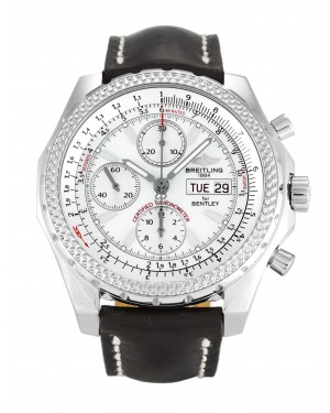 Fake Breitling Bentley GT Silver Watch A13362