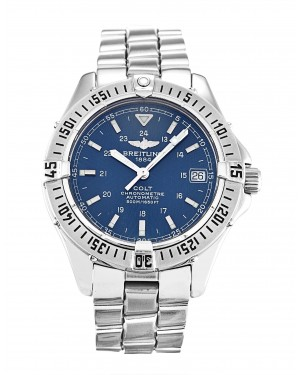 Fake Breitling Colt Watch Blue A17350