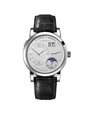 Fake A.Lange & Sohne Lange 1 Moonphase Platinum Watch 109.025