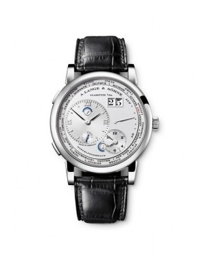 Fake A.Lange & Sohne Lange 1 Timezone Platinum Watch 116.025
