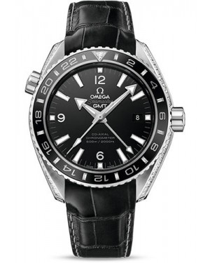 Fake Omega Seamaster Planet Ocean 600 M GMT 43.5 mm 232.98.44.22.01.001