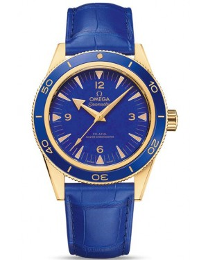 Fake Omega Seamaster Yellow gold Anti-magnetic Watch 234.63.41.21.99.002