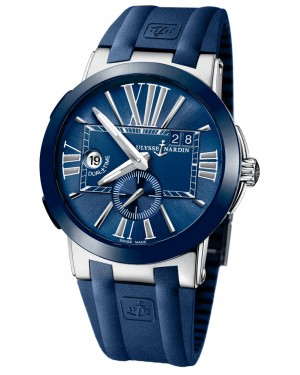 Fake Ulysse Nardin Executive Dual Time 43mm Watch 243-00-3/43