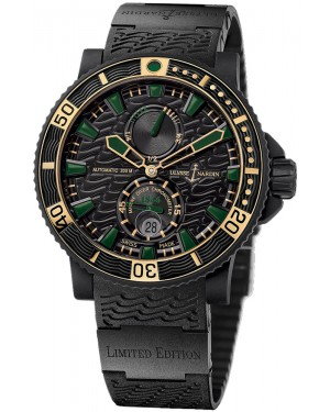 Fake Ulysse Nardin Maxi Marine Diver Black Sea Watch 263-92LE-3C-928-RG