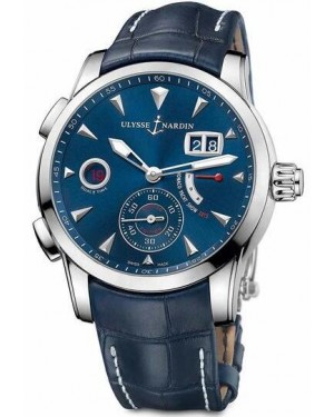 Fake Ulysse Nardin Dual Time Manufacture 42 mm 3243-132LE/BQ