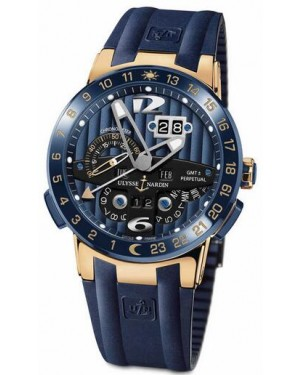 Fake Ulysse Nardin El Toro GMT Perpetual 43mm Watch 326-01LE-3