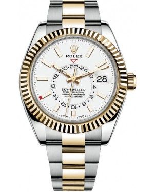 Fake Rolex Sky-Dweller 42 mm Mens Watch 326933-0009