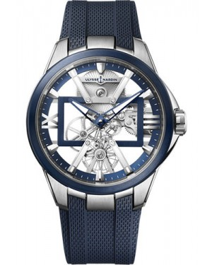 Fake Ulysse Nardin Executive Skeleton X Titanium Watch 3713-260-3/03