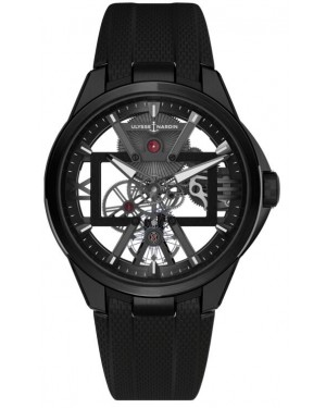 Fake Ulysse Nardin Executive Skeleton X Watch 3713-260-3/BLACK