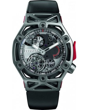 Fake Hublot Techframe Ferrari Tourbillon Chronograph Titanium 408.NI.0123.RX
