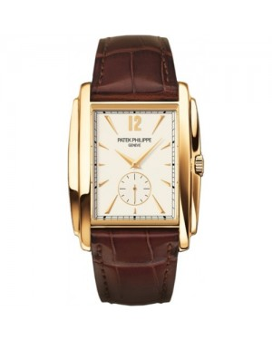Fake Patek Philippe Gondolo Yellow Gold Mens Watch 5124J-001