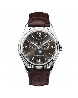 Fake Patek Philippe Complications White Gold Mens Watch 5146G-010