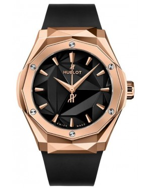 Fake Hublot Classic Fusion Orlinski King Gold 40mm Watch 550.OS.1800.RX.ORL19