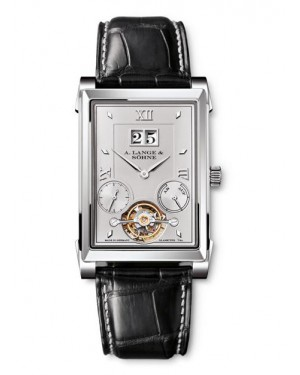 Fake A.Lange & Sohne Cabaret Tourbillon Platinum Watch 703.025