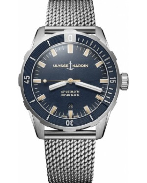 Fake Ulysse Nardin Diver 42mm Watch 8163-175-7MIL/93