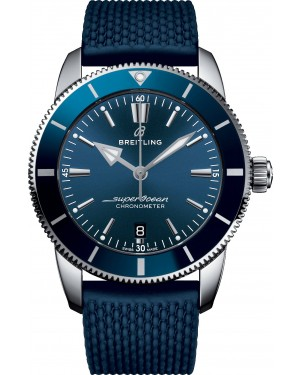 Replica Breitling Superocean Heritage II B20 Automatic 44 Steel Blue Mens Watch AB2030161C1S1