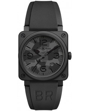 Replica Bell & Ross BR03-92 Automatic 42mm Mens Watch BR0392-CAMO-CE/SRB