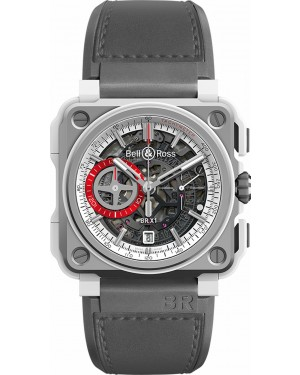 Replica Bell & Ross BR-X1 Chronograph 45mm Skeleton Chronograph White Hawk Watch BRX1-WHC-TI