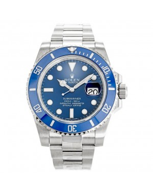 Fake Rolex Submariner Blue 116619LB