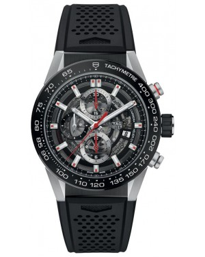 Fake TAG Heuer Carrera Calibre Heuer 01 Automatic Chronograph 43 mm CAR201V.FT6087
