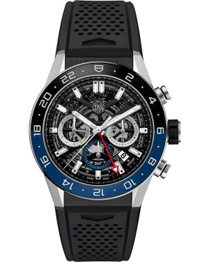 Replica TAG Heuer Carrera Calibre Heuer 02 GMT 45 mm CBG2A1Z.FT6157