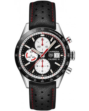 Replica TAG Heuer Carrera Calibre 16 Chronograph 41mm Mens Watch CV201AP.FC6429