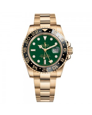 Fake Rolex GMT Master II Green 116718GSO