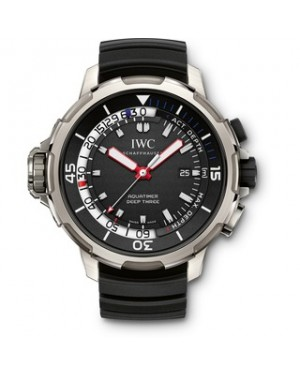 Fake IWC Aquatimer Deep Three Titanium Watch IW355701