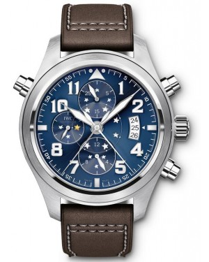 "Fake IWC Pilot's Double Chronograph ""Le Petit Prince"" Watch IW371807"