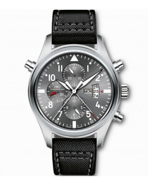 Fake IWC Pilot's Watch Double Chronograph Edition Patrouille Suisse IW377805