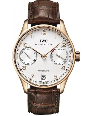 Fake IWC Portuguese Automatic Rose Gold IW500113