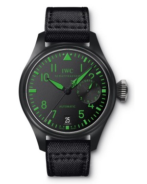 Fake IWC Big Pilot's Top Gun Boutique Green Watch IW501903