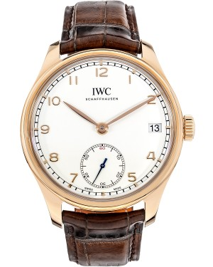 Fake IWC Portugieser Hand-Wound Eight Days Mens Watch IW510204