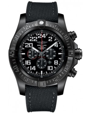 Fake Breitling Super Avenger Military Blacksteel M2233010/BC91
