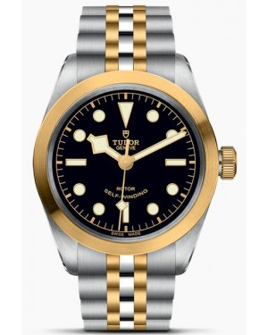 Fake Tudor Black Bay Black 36mm S&G Watch M79503-0001