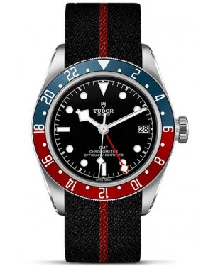 Replica Tudor Heritage Black Bay GMT Watch M79830RB-0003