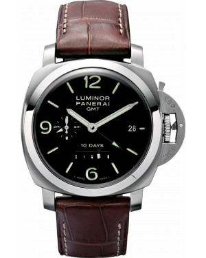 Fake Panerai Luminor 1950 10 Days GMT 44mm Watch PAM00270