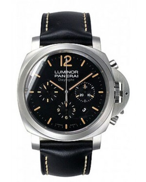 Fake Panerai Luminor Chrono Daylight 44mm Watch PAM00356