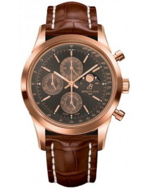 Fake Breitling Transocean Chronograph 1461 Rose Gold Watch R19310C6/Q601/739P/R20BA.1