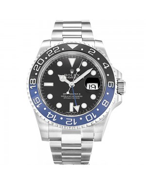 Fake Rolex GMT Master II Black 116710